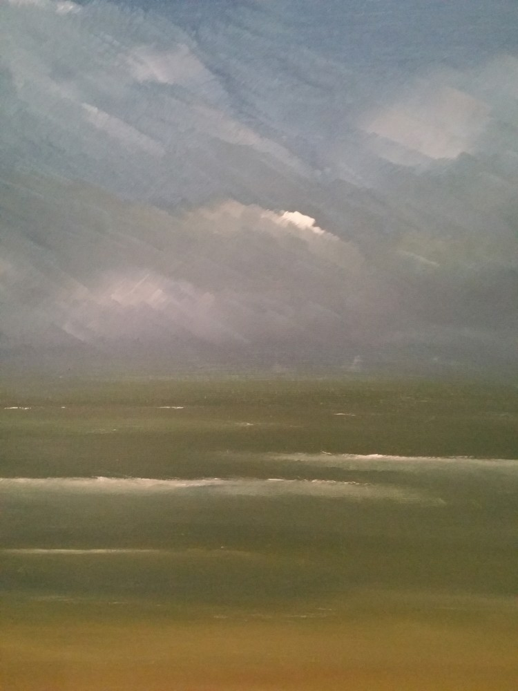 Gathering Storm (Abstracted) by Ted Dwyer