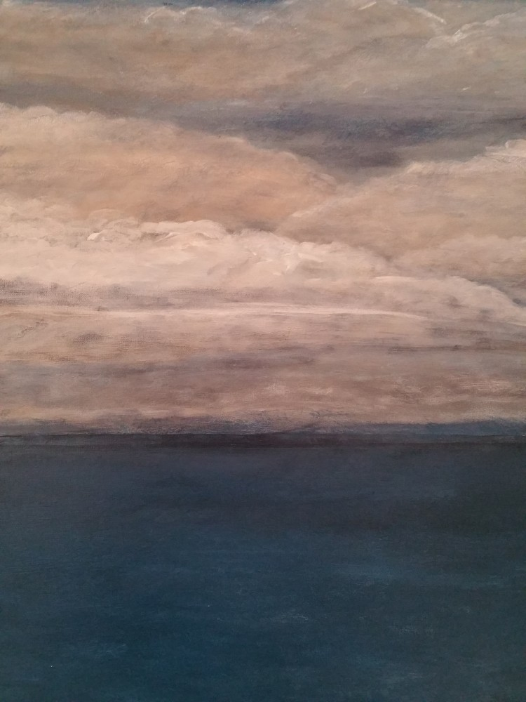 Split Horizon (Ocean) - SOLD by Ted Dwyer